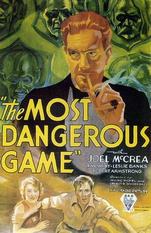 Short Story Review: The Most Dangerous Game, by Richard