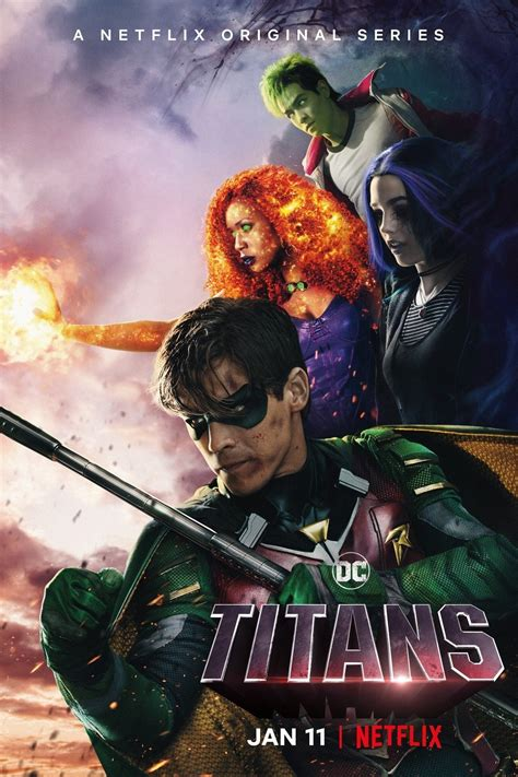 Titans (TV Series 2018- ) - Posters — The Movie Database