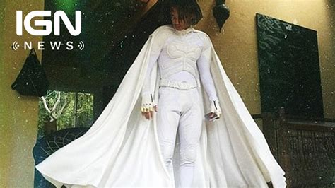 Jaden Smith Dressed Up in a White Batsuit for Prom - IGN