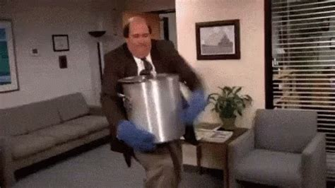 Spilled Chili - The Office GIF - TheOffice Spill Chili