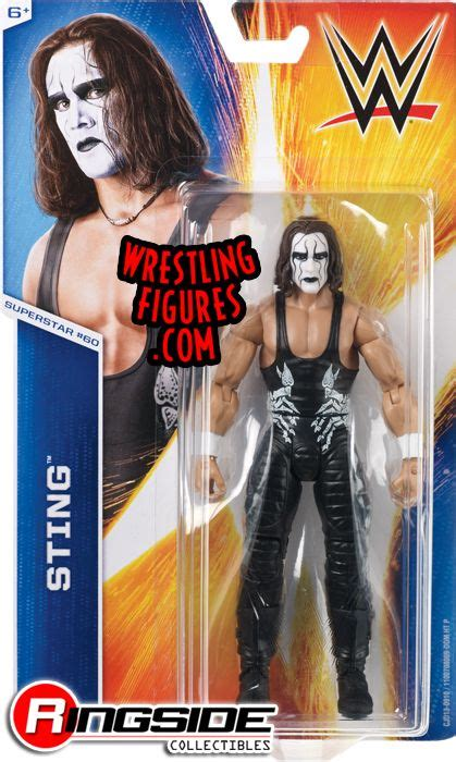 Sting - WWE Series 55 WWE Toy Wrestling Action Figure by