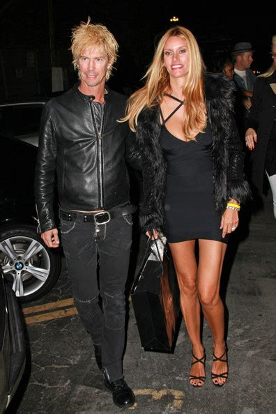 Duff McKagan Photos - Perry Farrell and his Wife Leave