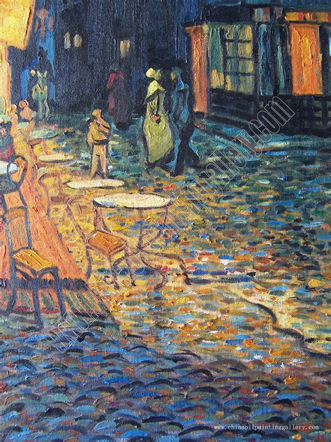 Cafe Terrace at Night - Van Gogh - oil painting