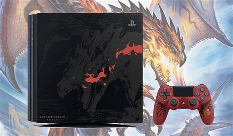 Monster Hunter World PS4 Pro Rathalos Edition is Awesome