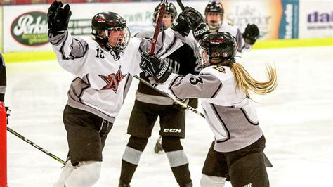 Prep girls hockey: Cementing their place in the State of