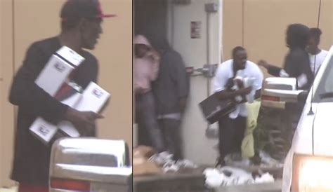 VIDEO: Looters Hit Foot Locker And More During Hurricane Irma