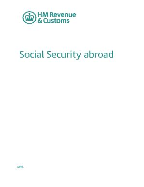 Fillable Online NI38 - Social security abroad - Gov