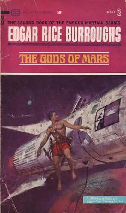 Booktalk & More: Review: The Gods of Mars by Edgar Rice
