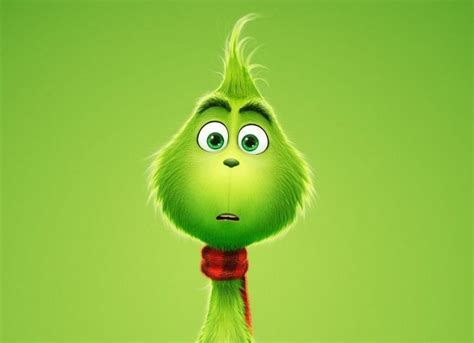 The Grinch Dreams of Being Ice Skater in First Footage of