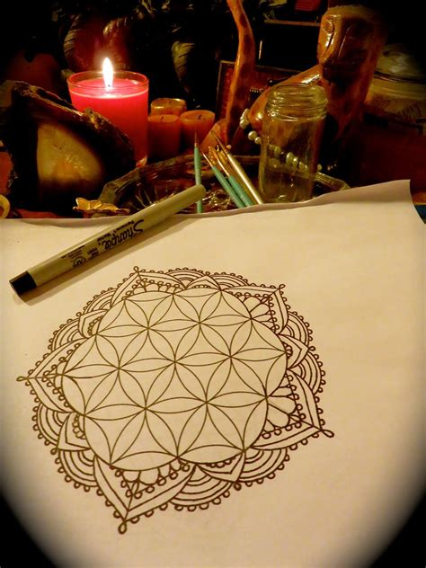 flower of life tattoo - Google Search #CoolTattooLife
