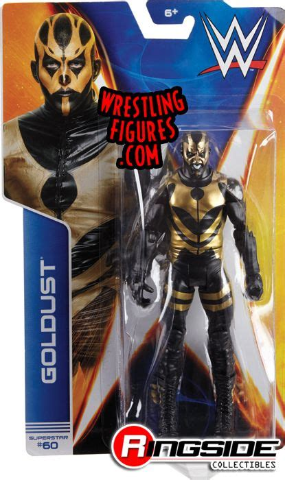 Goldust - WWE Series 44 WWE Toy Wrestling Action Figure by