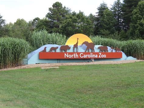 The North Carolina Zoo In Asheboro Is The Largest Zoo In
