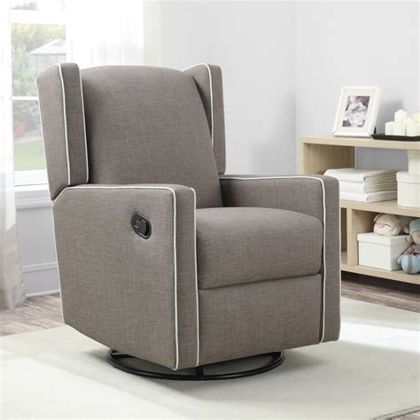 Baby Knightly Everston Swivel Glider Recliner Taupe