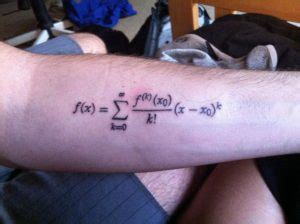 Math Tattoos Designs, Ideas and Meaning | Tattoos For You