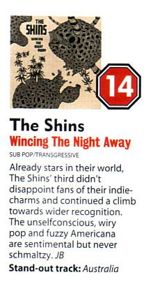 The Shins Promotional and Press on Sub Pop Records