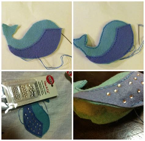 Felt Whale {with free template} – Catholic Sprouts