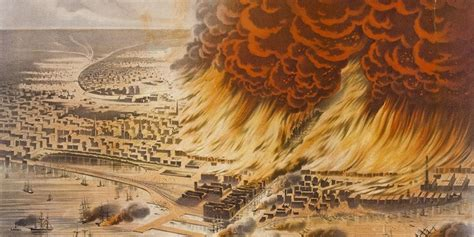 The Great Chicago Fire Happened 142 Years Ago Tuesday
