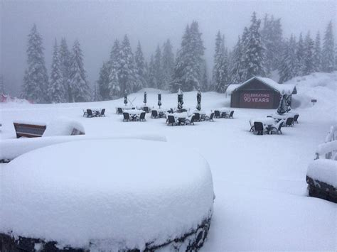 Grouse Mountain Resort Reopens After May Snow Storm Pounds