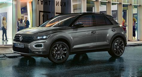 2020 VW T-Roc Black Edition Brings A More Stylish Package